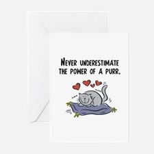 Power of a Purr Greeting Cards (Pk of 10)