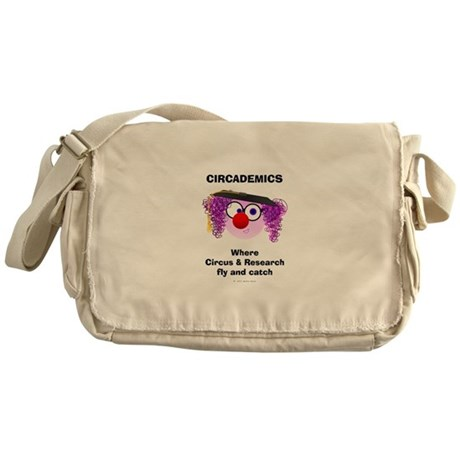 Circademic Dudette-Fly & Catch Messenger Bag