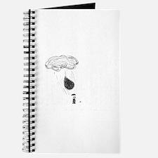it's raining notebook