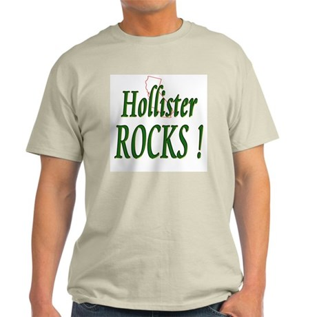 Hollister Rocks ! Ash Grey T-Shirt