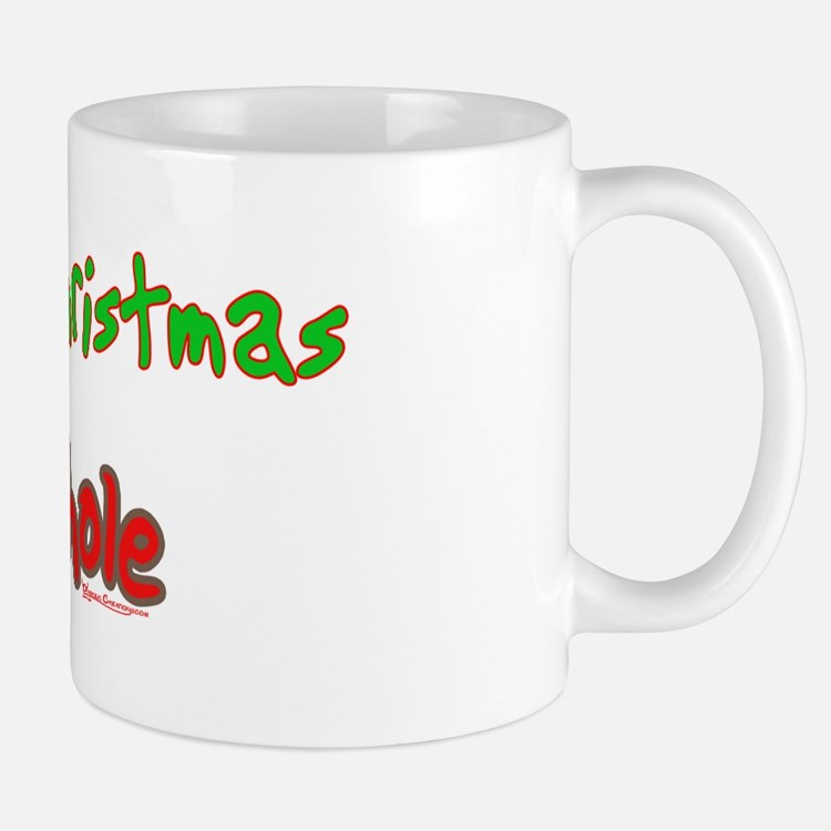 Merry Christmas Asshole -2 Mug
