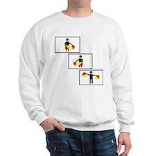 Navy Semaphore G-A-Y Sweatshirt