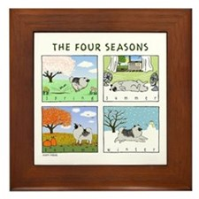 """The Four Seasons"" Framed Tile"