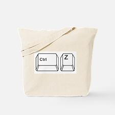 CTRL Z Tote Bag