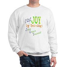 Find Joy in serving Jesus Oth Sweatshirt