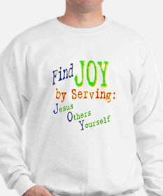 Find Joy in serving Jesus Oth Sweatshirt