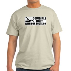 Cowgirls Do It Ash Grey T-Shirt