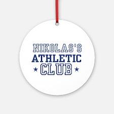 Nikolas Ornament (Round)