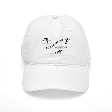 Triathlon Woman Baseball Baseball Cap