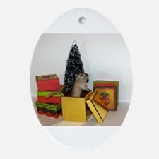 The Gift Of Gerbils Christmas Ornament