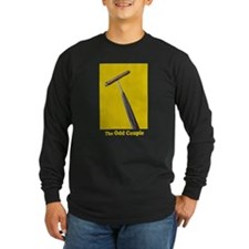 Long Sleeve Dark Odd Couple T-Shirt