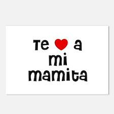 Te * a mi Mamita Postcards (Package of 8)