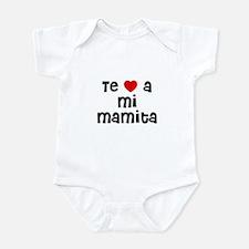 Te * a mi Mamita Infant Bodysuit