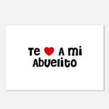 Te * A mi Abuelito Postcards (Package of 8)