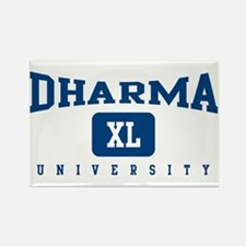 Dharma XL Univeristy Rectangle Magnet