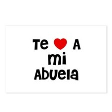 Te * A mi Abuela Postcards (Package of 8)