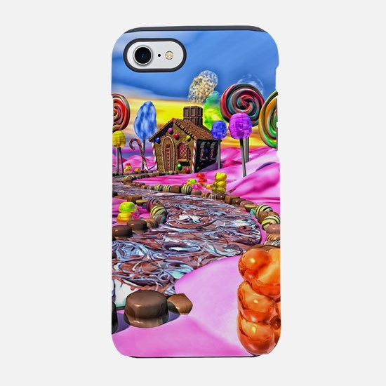 Pink Candyland iPhone 7 Tough Case