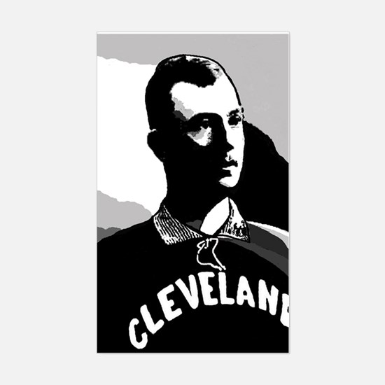 Cy Young Cleveland Baseball Rectangle Decal