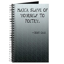 John Cage Quote (#4) Journal
