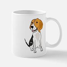 Funny Beagle Puppy Dog Cartoon Small Mugs