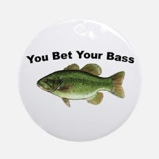 You Bet Your Bass Christmas Ornament