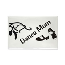 Dance Mom Rectangle Magnet