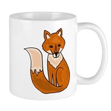 Red Fox Art Mug