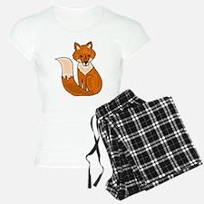 Red Fox Art Pajamas