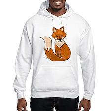 Red Fox Art Hoodie