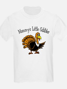 Mommy's Little Gobbler Kids T-Shirt