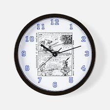 Coconuts Comics Shop Wall Clock: Golf Classic