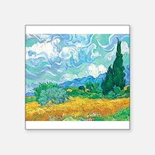 "Cypress Square Sticker 3"" x 3"""