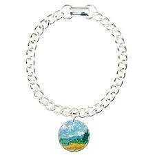Cypress Charm Bracelet, One Charm