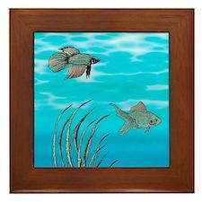Mother Ocean Framed Tile