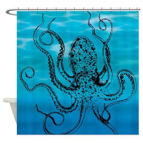 Mother Ocean Shower Curtain