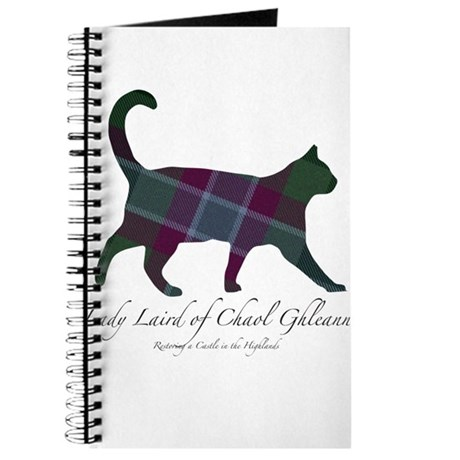 Lady Laird of Chaol Ghleann Cat Journal