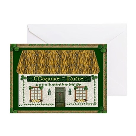 Maguire's Irish Cottage Cards (10)