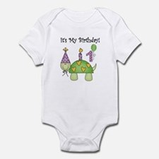 Turtle 1st Birthday Infant Bodysuit