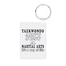 Taekwondo Martial Arts Designs Aluminum Photo Keyc