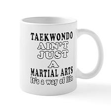 Taekwondo Martial Arts Designs Mug