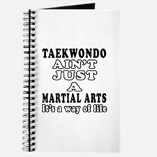 Taekwondo Martial Arts Designs Journal