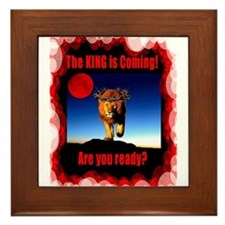 Are You Ready! Framed Tile