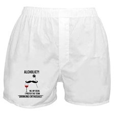 Drinking enthusiast Boxer Shorts