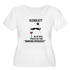 Drinking enthusiast Plus Size T-Shirt
