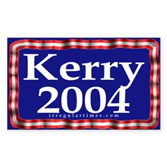 Kerry 2004 Rectangle Decal