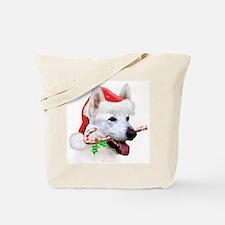 White Shep Tote Bag