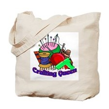 Crafting Queen Tote Bag