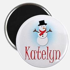 Snowman - Katelyn Magnet