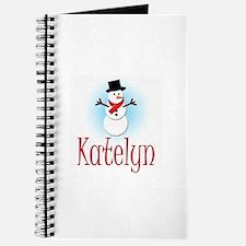 Snowman - Katelyn Journal