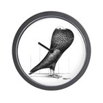 Silesian Pouter Pigeon Wall Clock